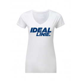 "T-Shirt Damen weiß ""Ideal Linie"""