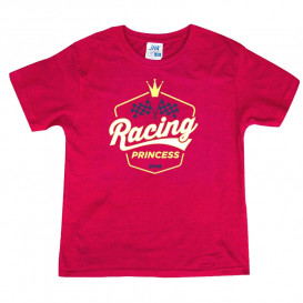 "Kinder T-Shirt ""Racing Princess"""