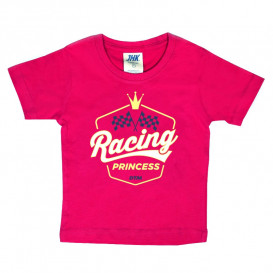 "Kleinkinder T-Shirt ""Racing Princess"""